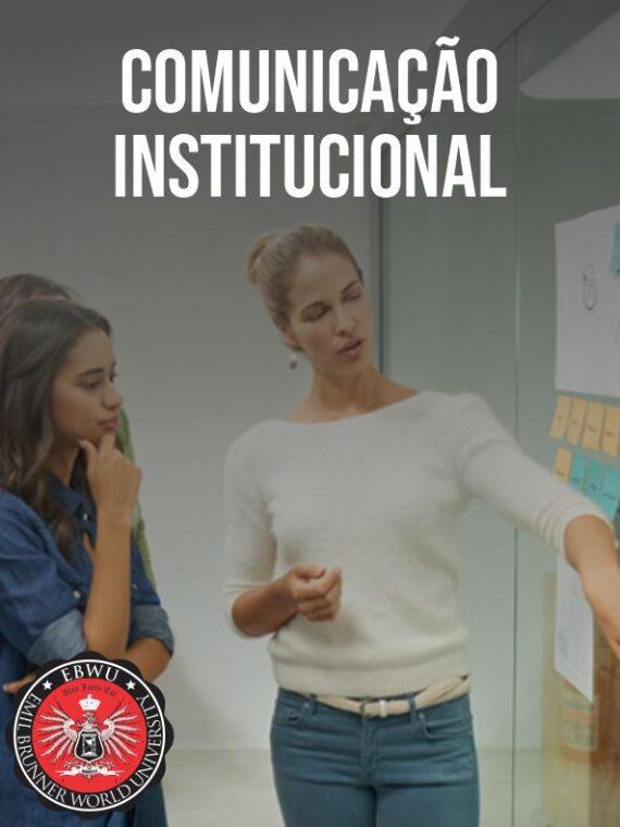 COMUNICAÇÃO INSTITUCIONAL
