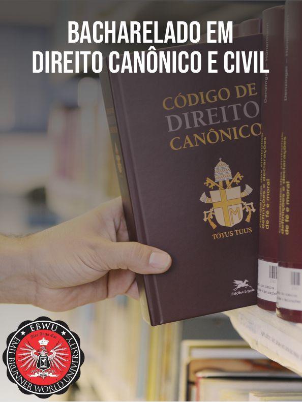 Bacharelado em Direito Canônico e Civil